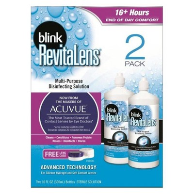 Contact Lens Solution: Blink RevitaLens