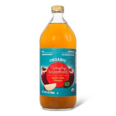 Organic Apple Cider Vinegar 32 fl oz - Simply Balanced™