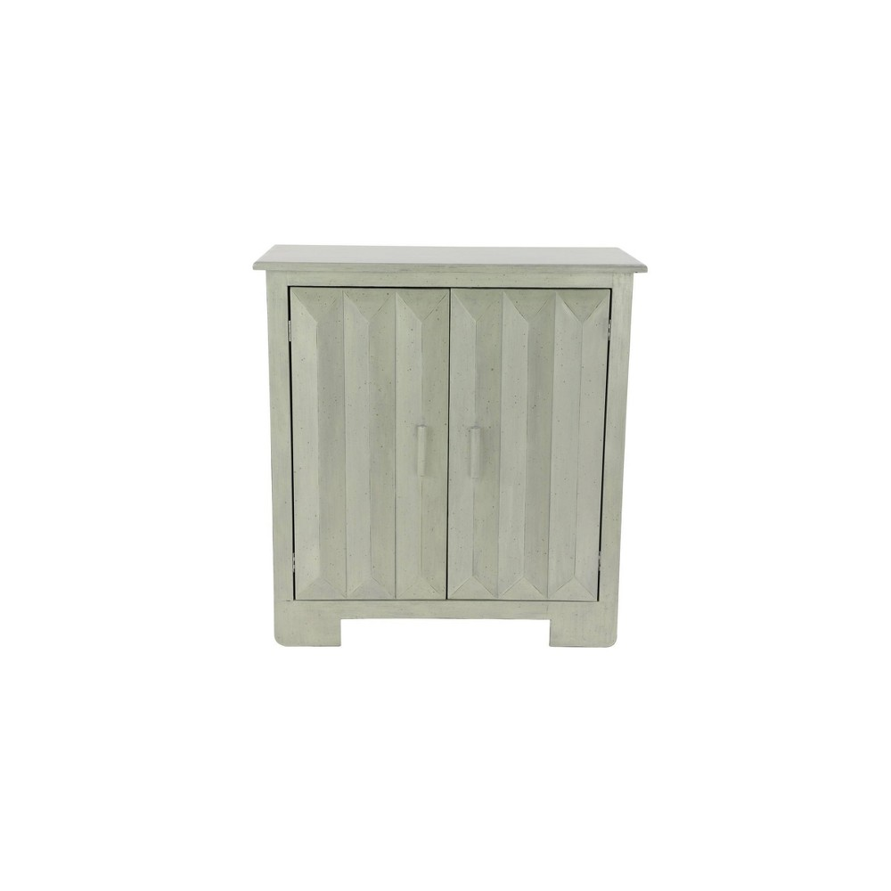 Wood Console Table With 2 Shelf Cabinet White Olivia 38 May