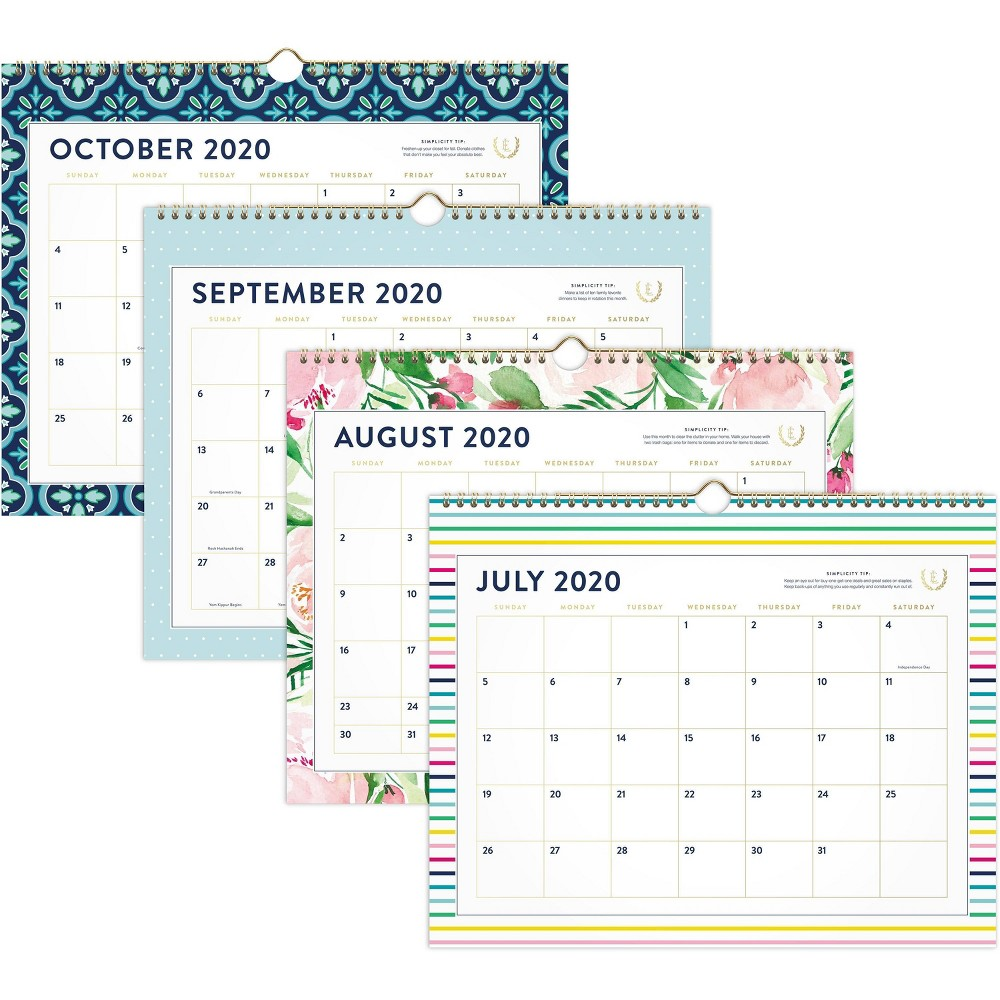 """Image of """"2020-21 Large Wall Calendar 14.875"""""""" x 11.875"""""""" Emily Ley"""""""
