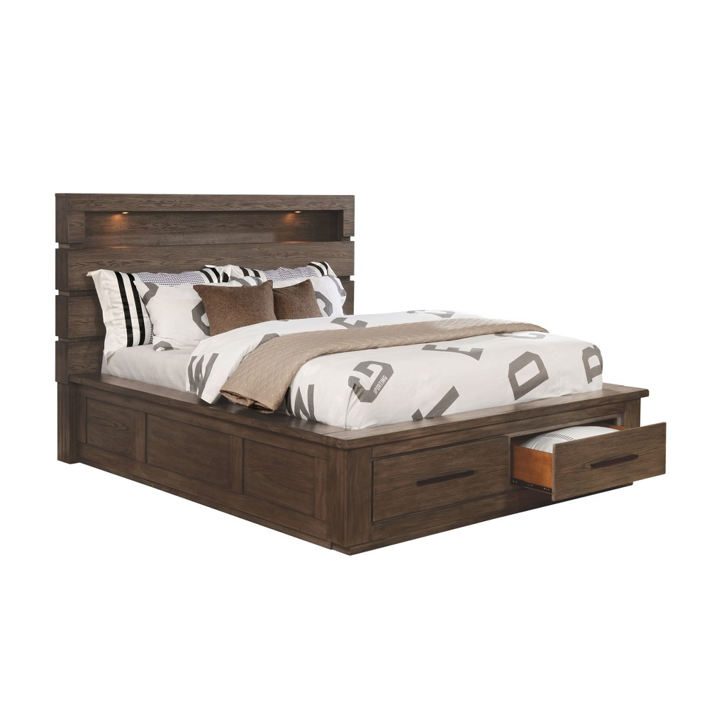 Adult Bed Earth Gray - Sun & Pine