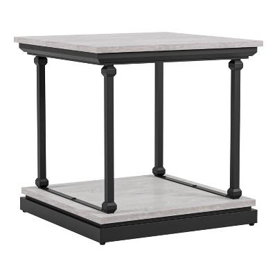 Tullymore Shelf Base End Table - miBasics