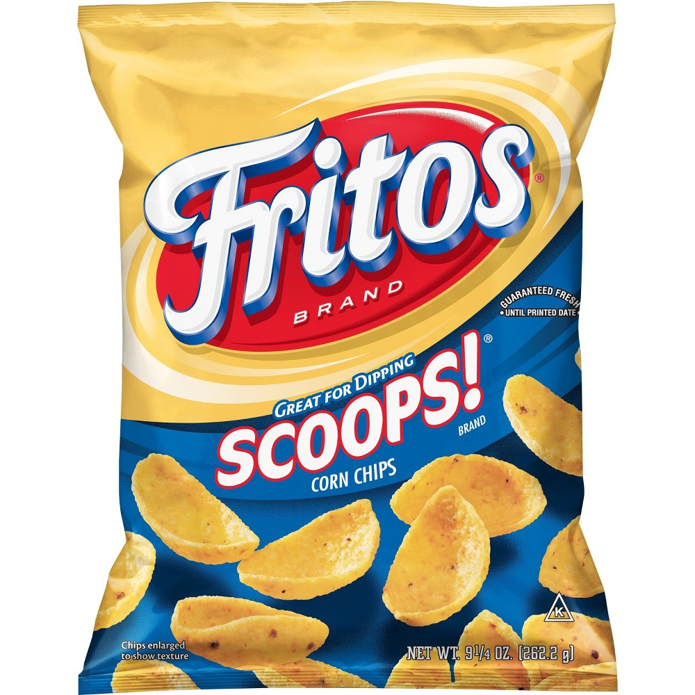 Fritos Scoops Corn Chips 9 25oz