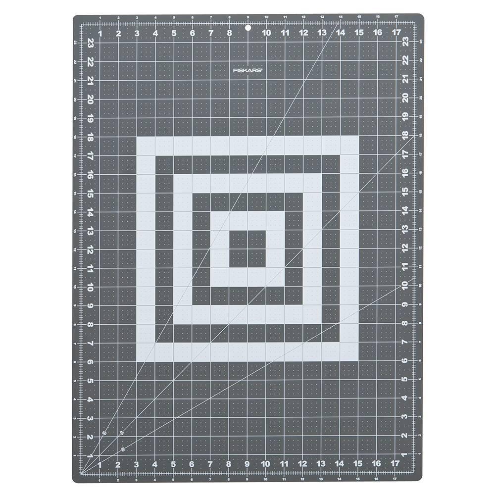 "Image of ""Fiskars 18"""" x 24"""" Folding Cutting Mat with Non-Slip Base, Gray"""