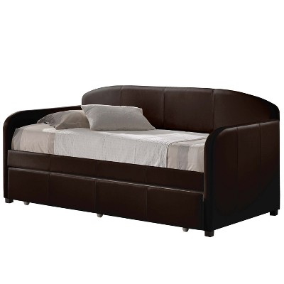 Twin Springfield Daybed with Trundle Brown - Hillsdale Furniture