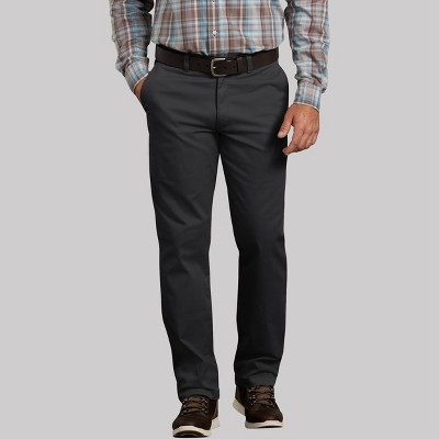 Dickies Men's X-Series Active Waist Regular Tapered Fit Washed Chino Pants