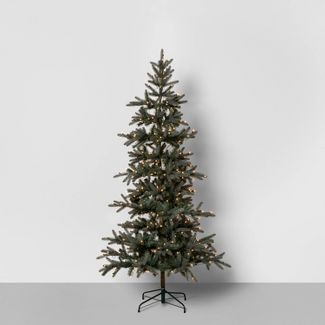 7ft Pre-Lit Artificial Tree - Hearth & Hand™ with Magnolia