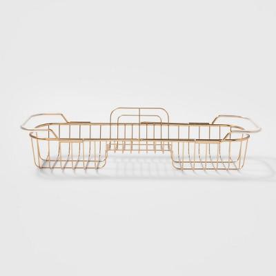 Steel Shower Caddy Brass - Threshold™