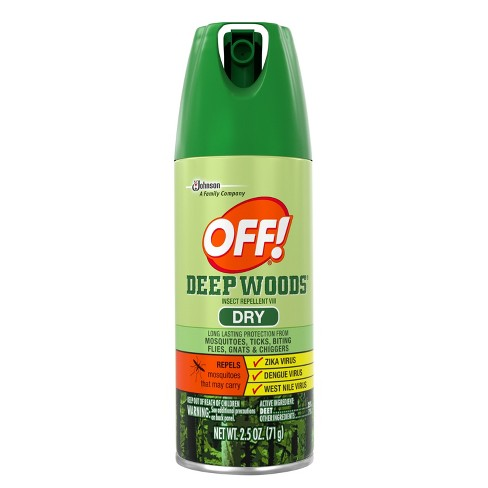 OFF! Deep Woods Insect Repellent VIII Dry 2.5oz - image 1 of 5