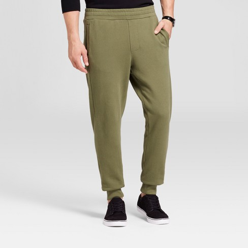 Men's Knit Jogger Pants - Goodfellow & Co™ Orchid S - image 1 of 3
