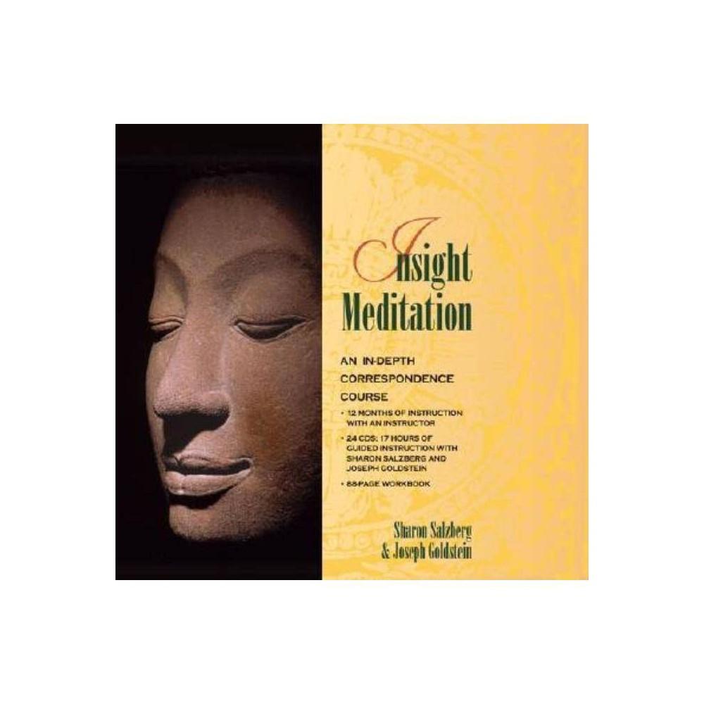 Insight Meditation - by Sharon Salzberg (AudioCD)