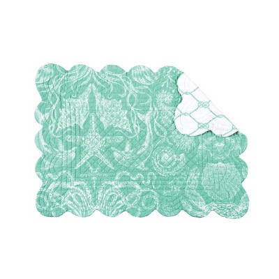 C&F Home Turquoise Bay Placemat Set of 6
