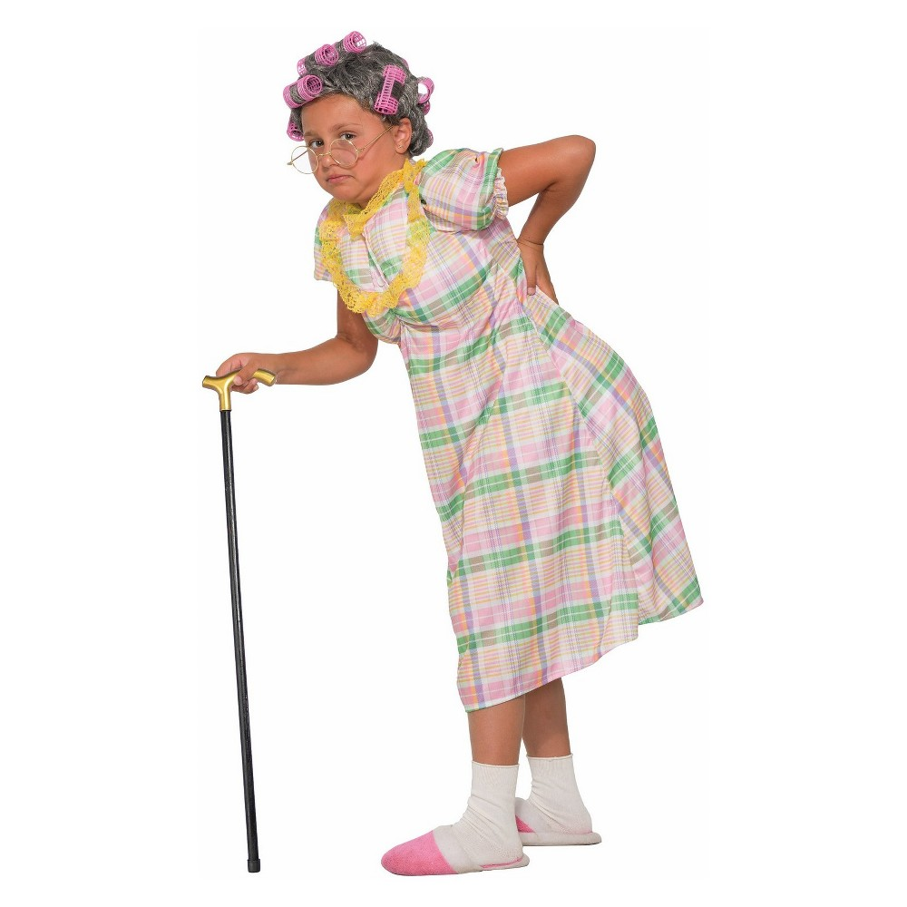 Image of Halloween Girls' Aunt Gertie Halloween Costume L, Girl's, Size: Large, MultiColored