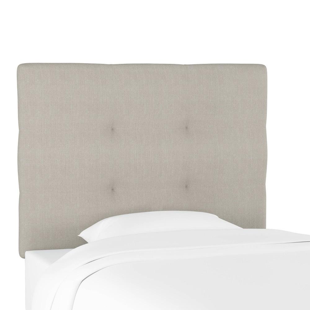 Coupons Kids'  Sawyer Upholstered Headboard Gray - Pillowfort™