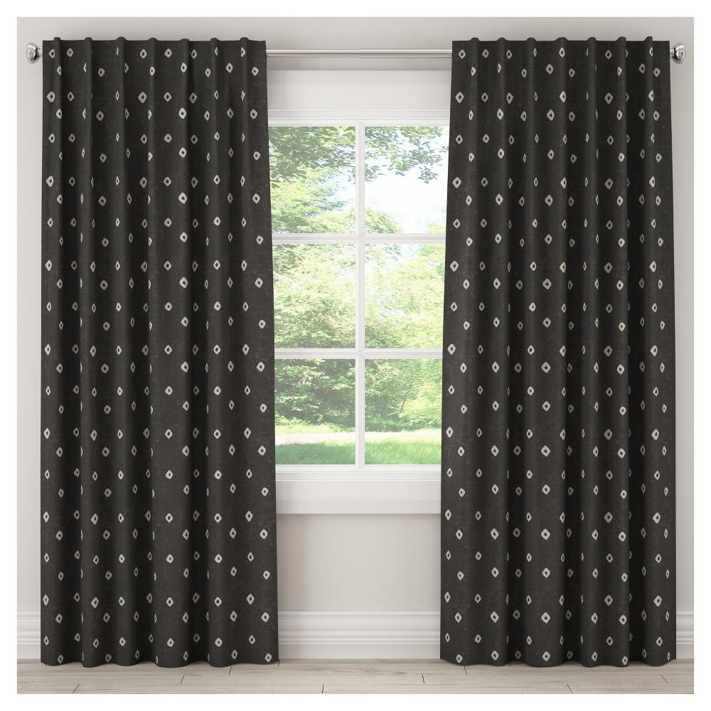 Blackout Tamara Curtain Panel Gray (50