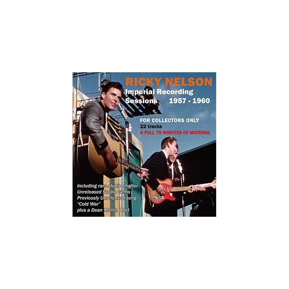 Ricky Nelson - Imperial Recording Sessions 1957-1960 (CD)