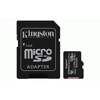 Kingston Canvas Select Plus 128 GB Class 10/UHS-I (U1) microSDXC - 100 MB/s Read