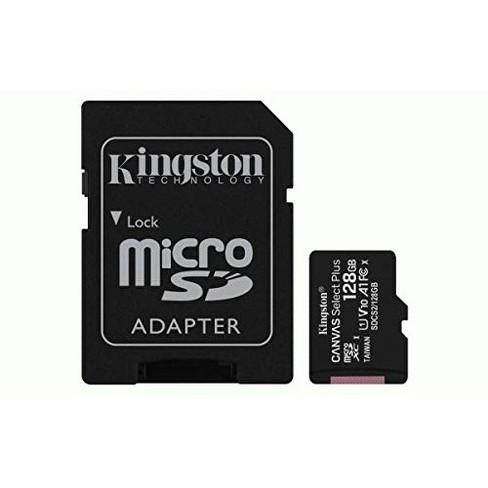 Kingston Canvas Select Plus 128 GB Class 10/UHS-I (U1) microSDXC - 100 MB/s Read - image 1 of 1