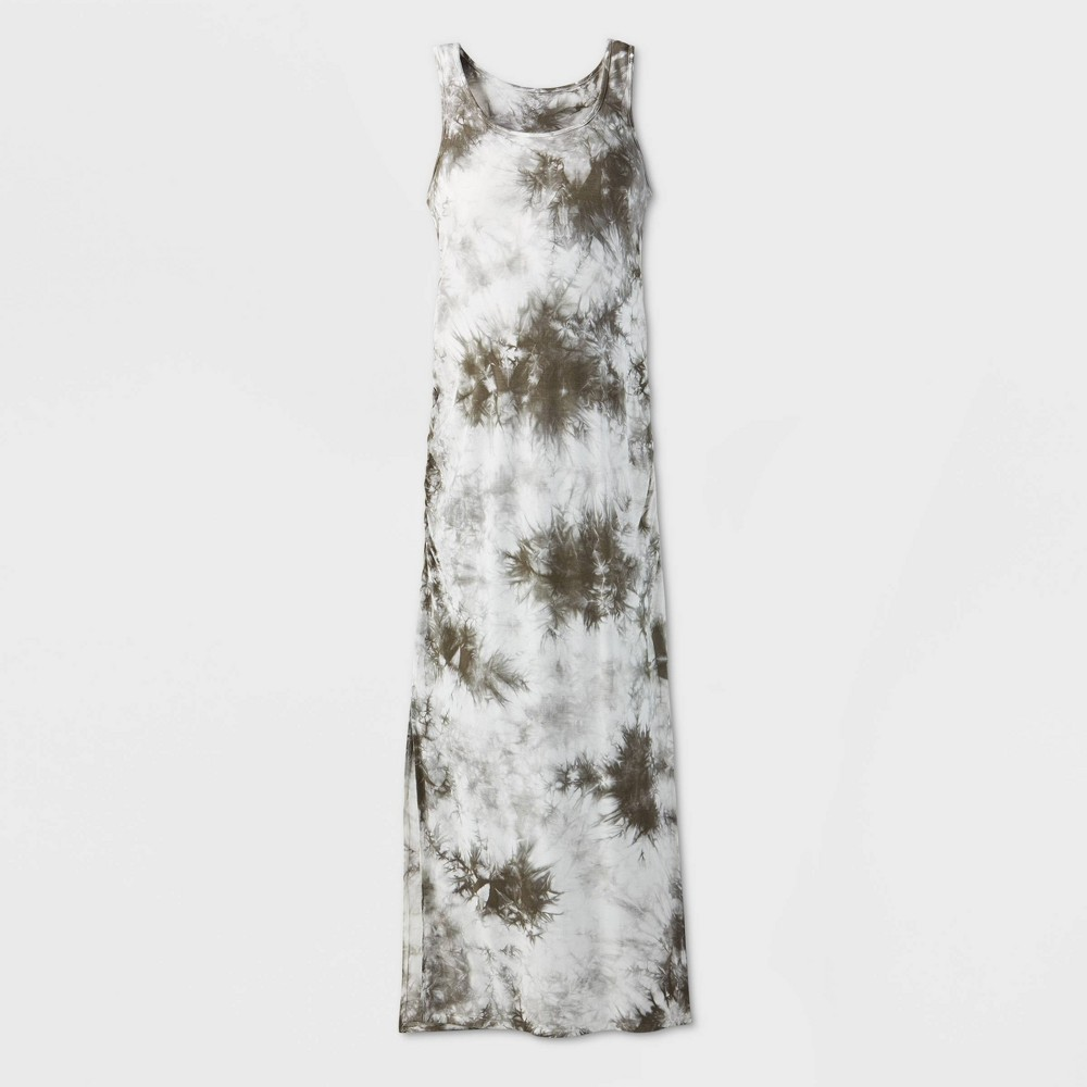 Maternity Sleeveless Knit Tank Dress - Isabel Maternity by Ingrid & Isabel Olive Tree XXL, Green was $27.99 now $10.0 (64.0% off)