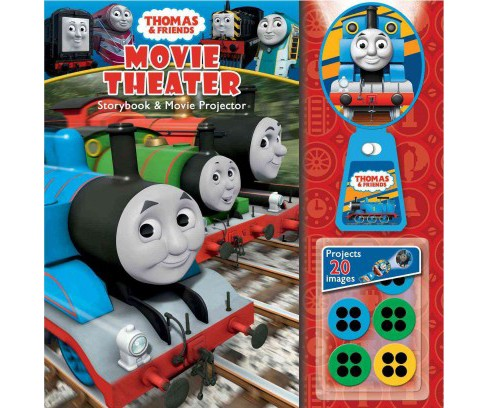 Thomas & Friends : Movie Theater Storybook & Movie Projector (Hardcover) (W. Awdry) - image 1 of 1