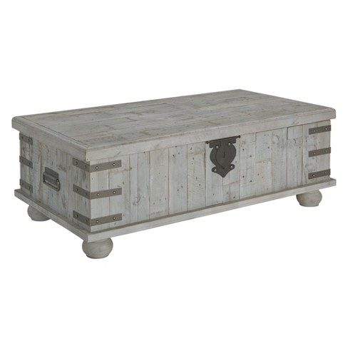 Carynhurst Lift Top Tail Table White Signature Design By Ashley