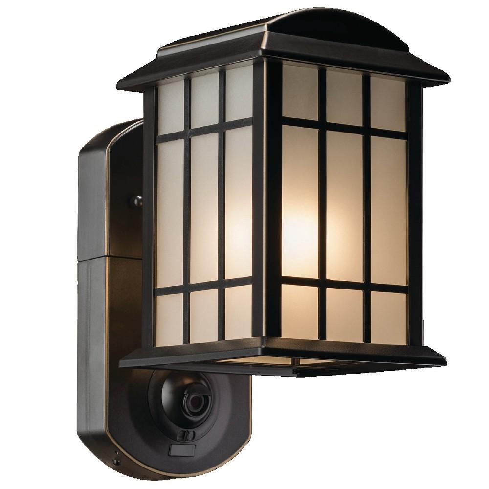 Image of Craftsman Smart Security Outdoor Wall Light Bronze - Maximus