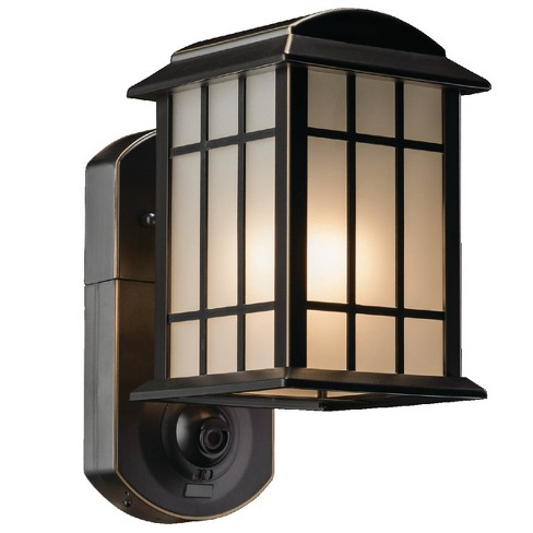 Craftsman Smart Security Outdoor Wall Light Bronze - Maximus - image 1 of 4
