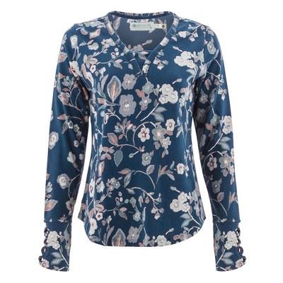 Aventura Clothing  Women's Brooklyn Print Long Sleeve Top