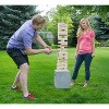 Yard Games On the Go Large Tumbling Timbers Wood Tower Stacking Outdoor Party Game w/ 56 Premium Pine Blocks & Nylon Carrying Case, Starting at 2 Feet - image 3 of 4