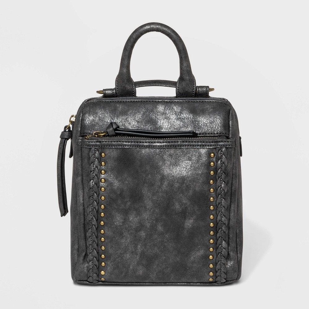 Image of Bueno Convertible Top Carrying Handle Backpack -Black, Women's