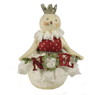 """Christmas 7.5"""" Rose Noel Snow Lady Holly  -  Decorative Figurines"""