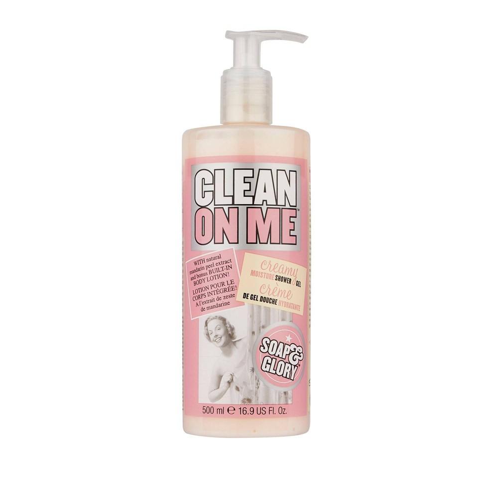 Soap Glory Clean On Me Creamy Clarifying Shower Gel 16 2oz