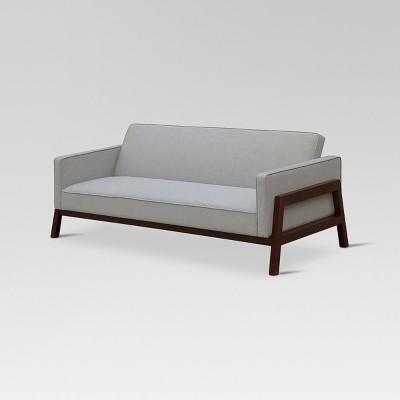 Wood Frame Convertible Sofa Gray - Threshold™
