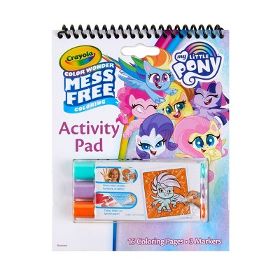 Crayola My Little Pony Color Wonder Travel Activity Pad with Markers