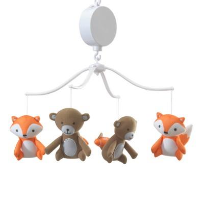 Bedtime Originals Baby League Musical Mobile - Orange