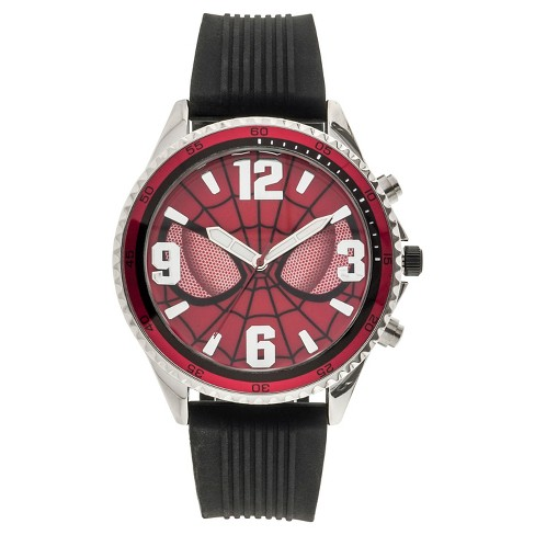 Men's Marvel Amazing Spider-Man Analog Watch - Black - image 1 of 1