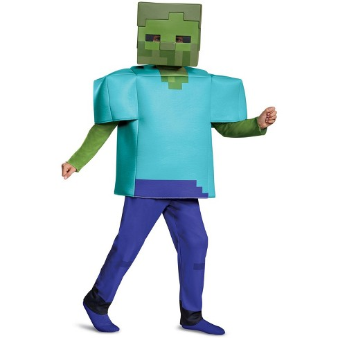 Minecraft Minecraft Zombie Deluxe Child Costume Large 10 12 Target