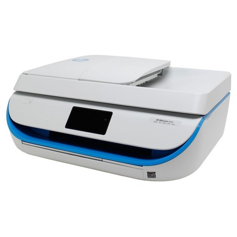 HP OfficeJet 4650 Wireless All-in-One Photo Printer with Mobile Printing -  Blue (Pre-Owned/Certified - No Ink Included)