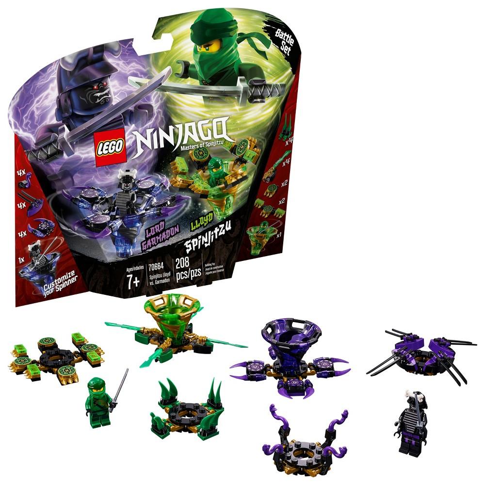 LEGO Ninjago: Masters of Spinjitzu Lloyd vs. Garmadon 70664