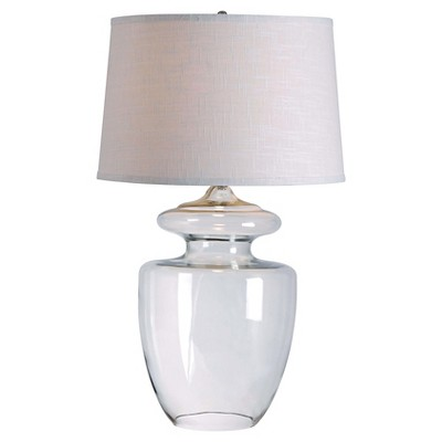 Kenroy Home Table Lamp (Lamp Only)- Clear