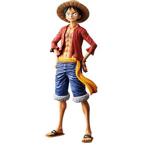 One Piece Grandista Grand Line Men Monkey D Luffy 10 6 Inch Collectible Pvc Figure