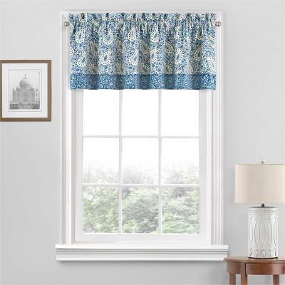 "18""x52"" Paisley Verveine Window Valance - Waverly"