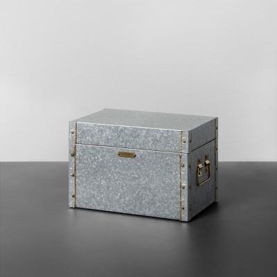 Galvanized Storage Box - Small - Hearth & Hand™ with Magnolia