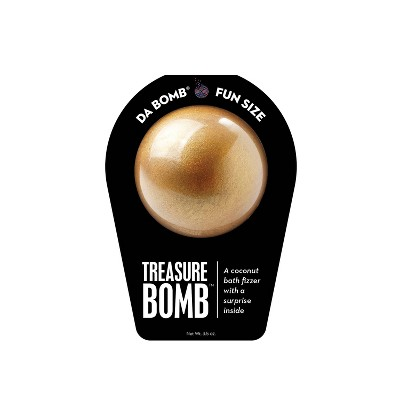 Da Bomb Bath Fizzers Treasure Bath Bomb - 3.5oz