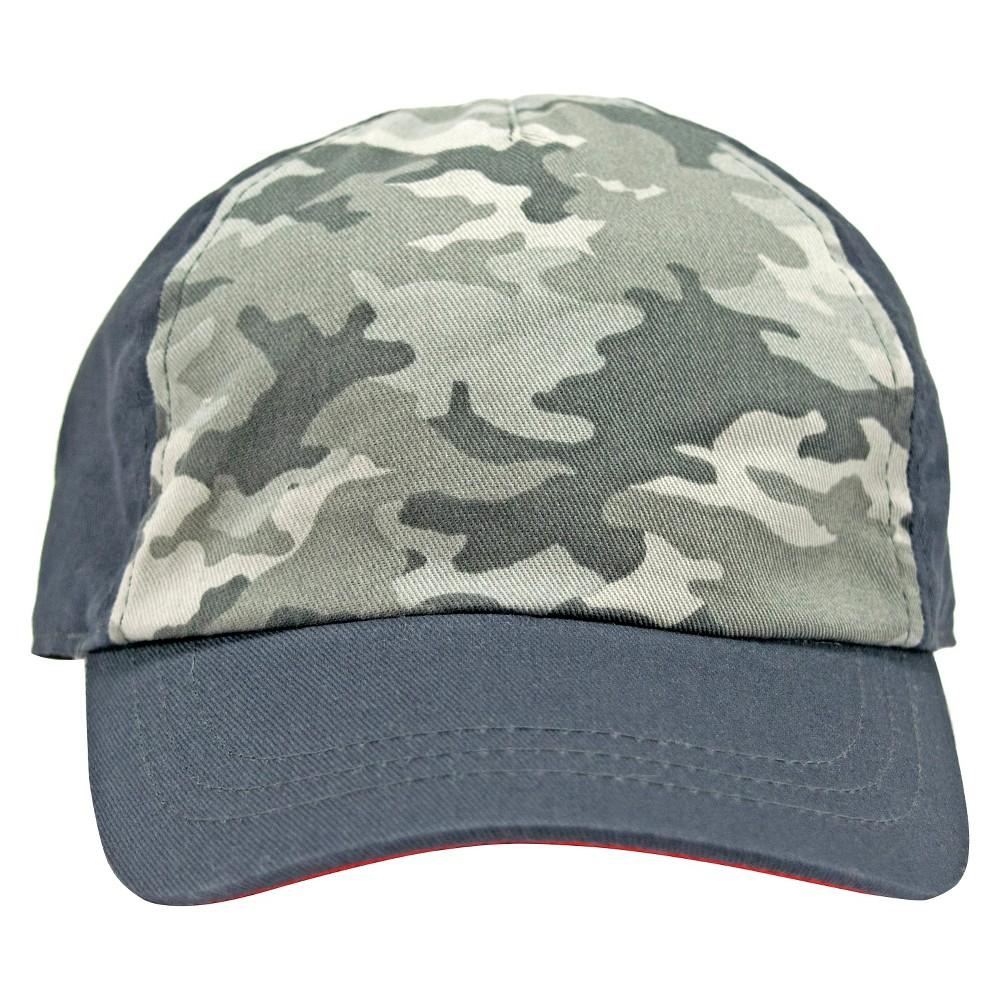Toddler Boys' Camouflage Baseball Hat Circo - Charcoal (Grey) 12-24M