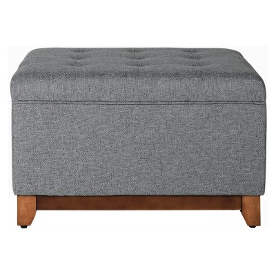 Storage Bench Charcoal   Home Pop by Home Pop