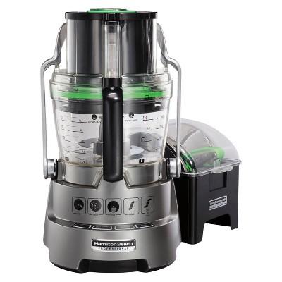 Hamilton Beach Professional Dicing Food Processor 14 & 5 Cup, Gray - 70825