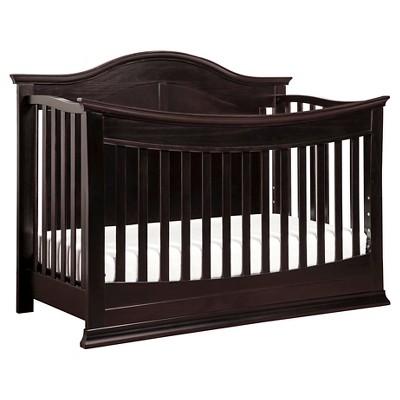 DaVinci Meadow 4-in-1 Convertible Crib with Toddler Rail - Dark Java