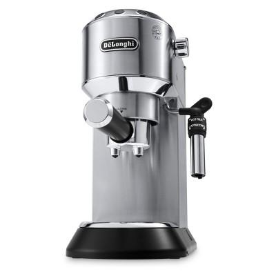De'Longhi Dedica Deluxe Pump Espresso Machine - Stainless Steel EC685M