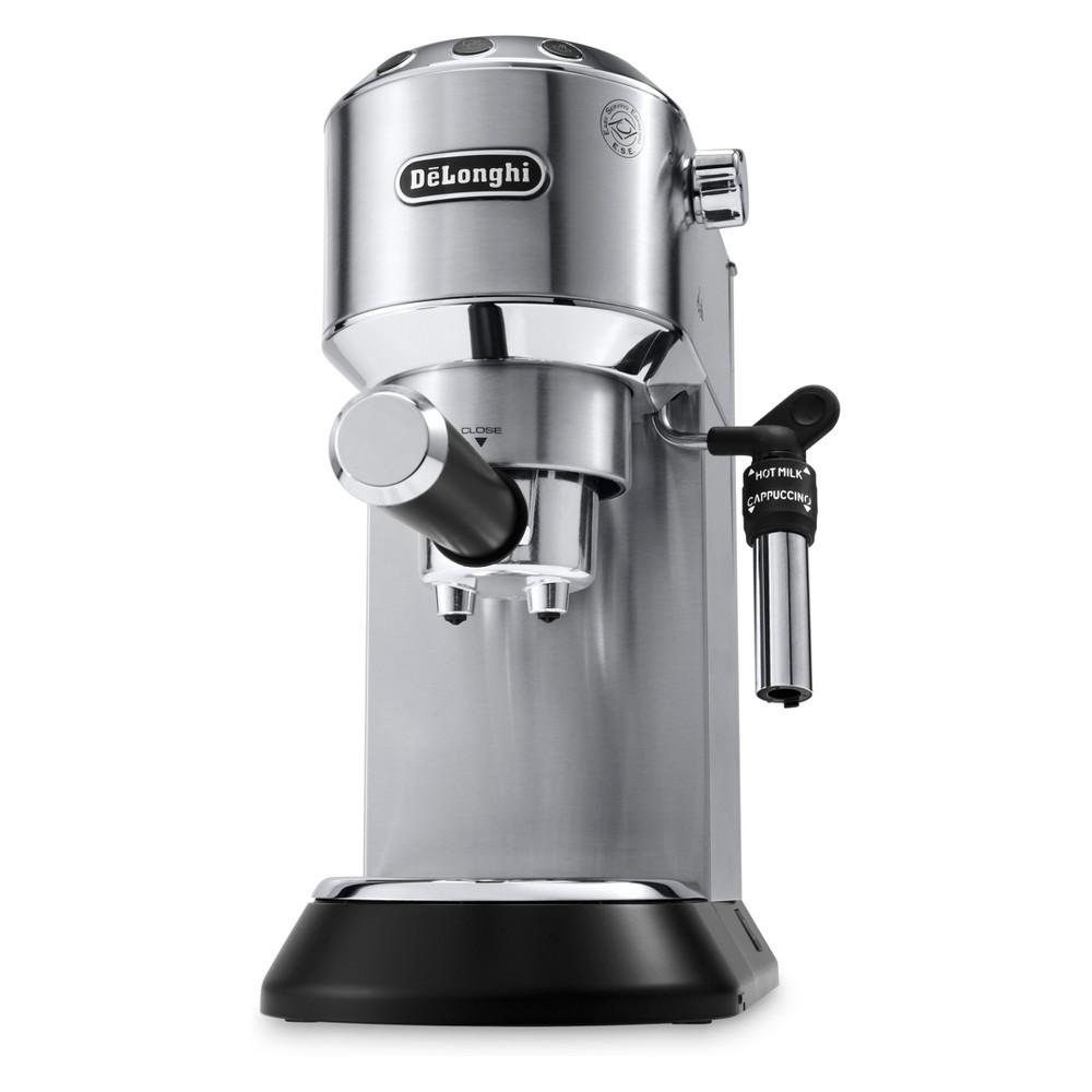 De'Longhi Dedica Deluxe Pump Espresso Machine – Stainless Steel (Silver) EC685M 53164348